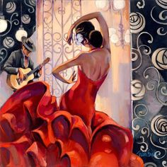 """Flamenco"" ~ Trish Biddle"