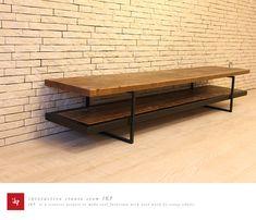 古材テレビボード180センチ/足場板/古材家具ikpイカピー