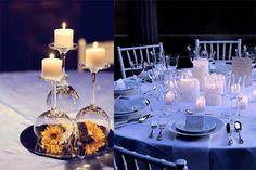 Decoração criativa para mesas no seu casamento Quer inovar na decoração das mesas do seu casamento? Separei aqui algumas dicas que podem te ajudar! Decorações de mesas com vasos enormes, cheio de flores e cristais são lindíssimas, mas pode não...