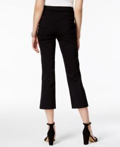 Inc International Concepts Cropped Straight-Leg Pants, Only at Macy's - Tan/Beige 18