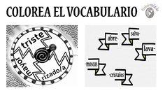 COLOREA EL VOCABULARIO | Profe-de-español.de