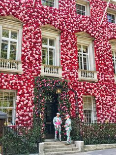 Most beautiful floral display celebrating the Chelsea Flower Show. Annabel's, Mayfair.
