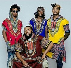 Dress to charm with African print dashiki outfits that don't just look fashionable but also promise supreme comfort. Featuring breathable fabric and rich African prints, Dashiki for men is exactly what you need to stay in style. African Inspired Fashion, African Print Fashion, Africa Fashion, Ethnic Fashion, Fashion Prints, African Prints, African Attire For Men, African Wear, African Dress