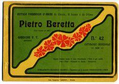 Beretta general catalogue, 1908
