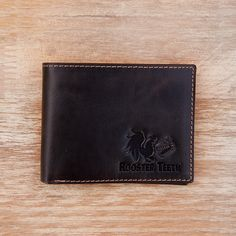 Rooster Teeth Leather Bifold Wallet