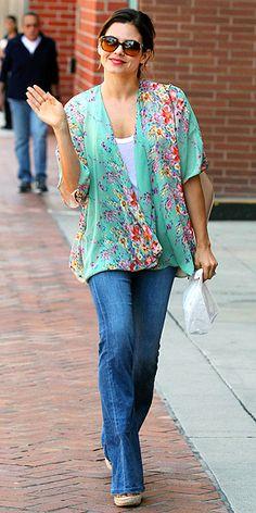 Kimono top.