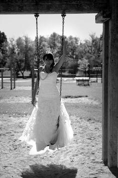 trash the dress- swingset!