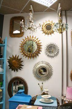 espejos sol · sunburst mirrors