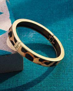 Go Wild Hinge Bangle | Jewelry by Silpada Designs