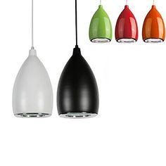 Droplights cire 12w Pendentif LED courge de forme restaurer lumières de la chambre LED AC85-265v – CAD $ 49.99