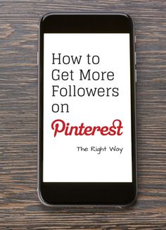 How to get more followers on Pinterest - the right way | There are some basic steps you need to set up to create a Pinterest friendly site for your customers @educatorsspinon | via @borntobesocial
