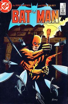 Batman #393 (March 1986) - Paul Gulacy
