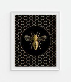 Honey Bees Wallpaper My Victorian Home Bee design