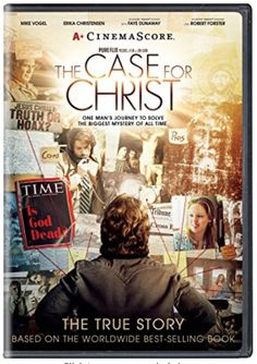 The case for Christ (movie) Christian Films, Christian Faith, Christian Easter, Christ Movie, Case For Christ, Robert Forster, Erika Christensen, Faye Dunaway, The Best Films