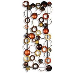 StyleCraft Home Collection WI41062DS Metal Wall Art