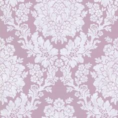 A glorious floral damask pattern makes this Beacon House Liza Roselle Damask Wallpaper a glamorous way to decorate your home. Pink Damask Wallpaper, Wallpaper For Sale, Embossed Wallpaper, Wallpaper Online, Home Wallpaper, Wallpaper Roll, Pattern Wallpaper, Bedroom Wallpaper, Wallpaper Ideas