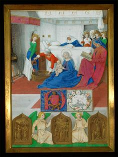 Jean Fouquet, Birth of John the Baptist
