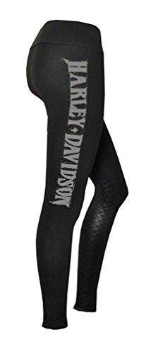 Harley-Davidson Women's Leggings, Rhinestone H-D Script Quilted Detail, Black Price : $42.95 http://www.wisconsinharley.com/Harley-Davidson-Womens-Leggings-Rhinestone-Quilted/dp/B013HBBBDS