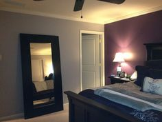 Gray And Purple Bedroom Ideas purple and gray bedroom thinking this maybe brooklyn's room colors