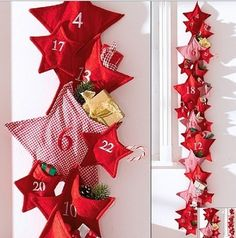 designs that inspire to create your perfect home: 12 Advent Calendar Ideas for Craft this Christmas!
