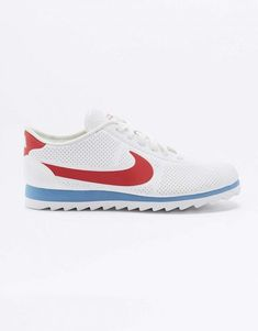 newest collection ab963 fb700 Nike Cortez Ultra Moire Red White and Blue Trainers 2 Cortez Ultra, Classic  Cortez,