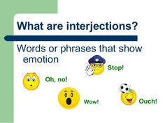 Interjections in English