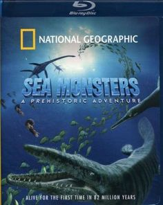 National Geographic Sea Monsters A Prehistoric Adventure 3D Blu-ray Review. #documentaries