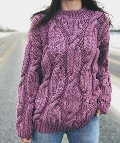 Ideas for knitting jumper handmade Hand Knitted Sweaters, Sweater Knitting Patterns, Hand Knitting, Finger Knitting, Scarf Patterns, Loom Knitting, Mustard Sweater, Yellow Sweater, Handgestrickte Pullover