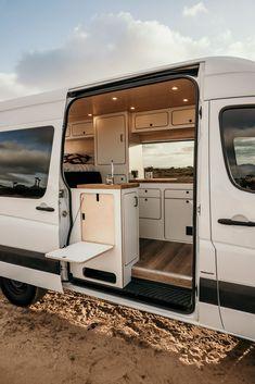 Motorhome, Van Conversion Interior, Conversion Vans For Sale, Sprinter Van Conversion, Mercedes Sprinter Camper Conversion, Build A Camper Van, Vw Camper, Campervans For Sale, Iveco Daily 4x4