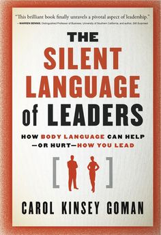 Leadership comes in all forms - body language can speak volumes.
