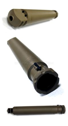 Barrett M107A1 Suprpessor