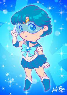 Sailor Mercury by K-Bo by *kevinbolk on deviantART