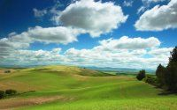 Bulutlu doğa / Bulutlu Gökyüzü Manzarası Resimleri