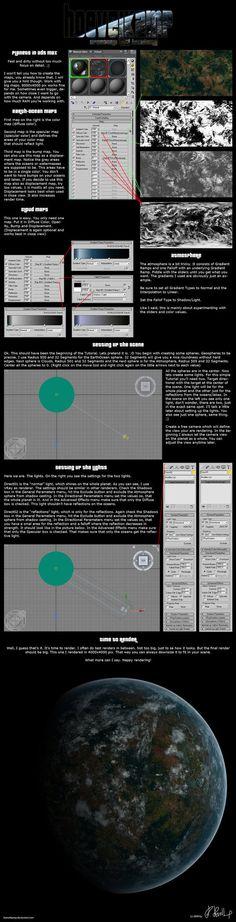 3ds Max Planet Tutorial by hoevelkamp on DeviantArt