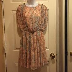 Brand new Jessica Simpson dress Apricot brand new Jessica Simpson dress/ never worn Jessica Simpson Dresses Mini
