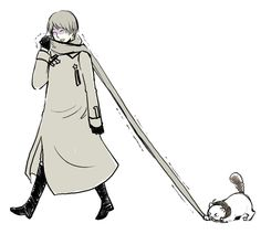 APH: Scarf fight (Russia and Americat) by waterylt.deviantart.com on @deviantART
