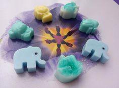 ELEPHANT SOAP   Baby Shower Soaps  Shower by StarSoapsbyIvana
