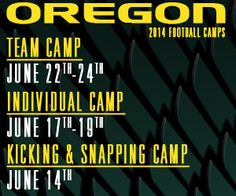 Student Sports Football Camp Advertising