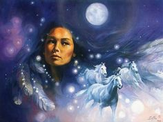 Sharing this work of art in celebration of Native American Heritage Month. Native Americans First People is a child friendly site about Native Americans and members of the First Nations. Native American Astrology, Native American Spirituality, Native American Wisdom, Native American Artwork, Native American Women, American Indian Art, Native American Indians, Native Indian, Native Art