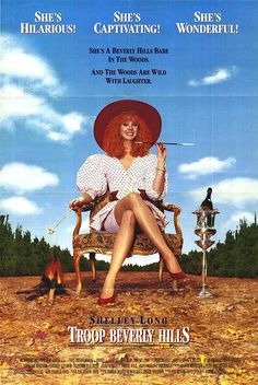 Troop Beverly Hills-one of my favorite movies growing up. 90s Movies, Great Movies, Movies To Watch, Movie Tv, Beverly Hills Movie, Troop Beverly Hills, 80s Kids, Film Music Books, Movies Showing