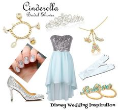 Disney Wedding Inspiration: Bridal Shower Outfit - Inspired by Cinderella