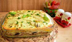 Musaca de vinete cu dovlecei Mozzarella, Quiche, Breakfast, Food, Morning Coffee, Meal, Essen, Quiches, Hoods