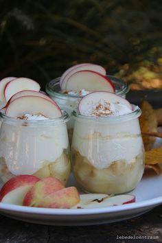 Herbstlicher Nachtisch...  Apfel Mascarpone Rezept