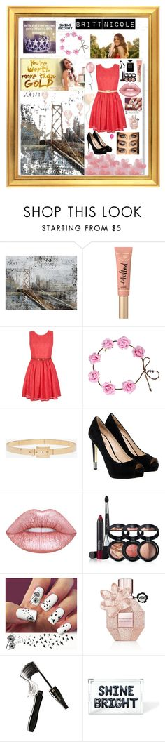 """I 💖 Britt Nicole"" by kykyfaith ❤ liked on Polyvore featuring Yosemite Home Décor, Too Faced Cosmetics, Yumi, Alexander McQueen, GUESS, Lime Crime, Laura Geller, Viktor & Rolf, Lancôme and Imm Living"