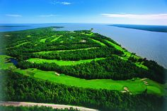 Hecla Golf Course by Travel Manitoba, via Flickr
