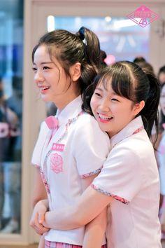 Produce 48: Yamada Noe and Jang Gyuri