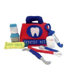 Love this Dentist Kit Soft Plush Set by Alma's Designs on #zulily! #zulilyfinds