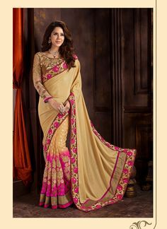Add a small burst of colour in your wardrobe with this Tan Brown Jacquard Saree. The ethnic Lace & Resham work at the clothing adds a sign of attractiveness statement with your look. Buy Online Exclusive Designer Ethnic Saree, Wedding Wear, Party Wear, Ceremonial Wear, Sarees, Shari, Sari, Indian Saris For women. We have large range of Designer Exclusive Sarees Online in our website with the best pricing and unique designs shipping to World Wide.