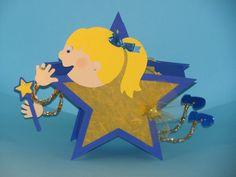 """Herbst - Laterne """"Sternenzauber """" Martinslaterne - ein Designerstück von Wonderful-Paper-Art bei DaWanda"""