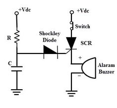 """#ShockleyDiode is a four-layer semiconductor diode, which was one of the first semiconductor devices invented. It was a """"pnpn"""" diode. It is equivalent to a thyristor with a disconnected gate."""